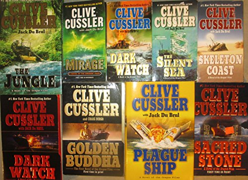 Clive Cussler Oregon Files Series 9 Novel Set