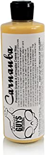 Chemical Guys WAC_103_16 Pure Carnauba Creme Wax (16 oz)