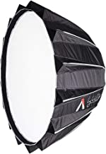 Aputure Light Dome II Parabola Reflector Soft Box Softbox with Diffuser Grid for LS C120D C300D II Bowens Mount LED Flash Photography Lighting (35x25.6 Inch)