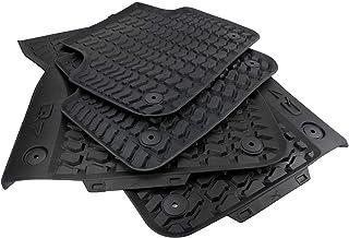 Original Audi Gummimatten Original Qualität Fußmatten Gummi schwarz 4 teilig