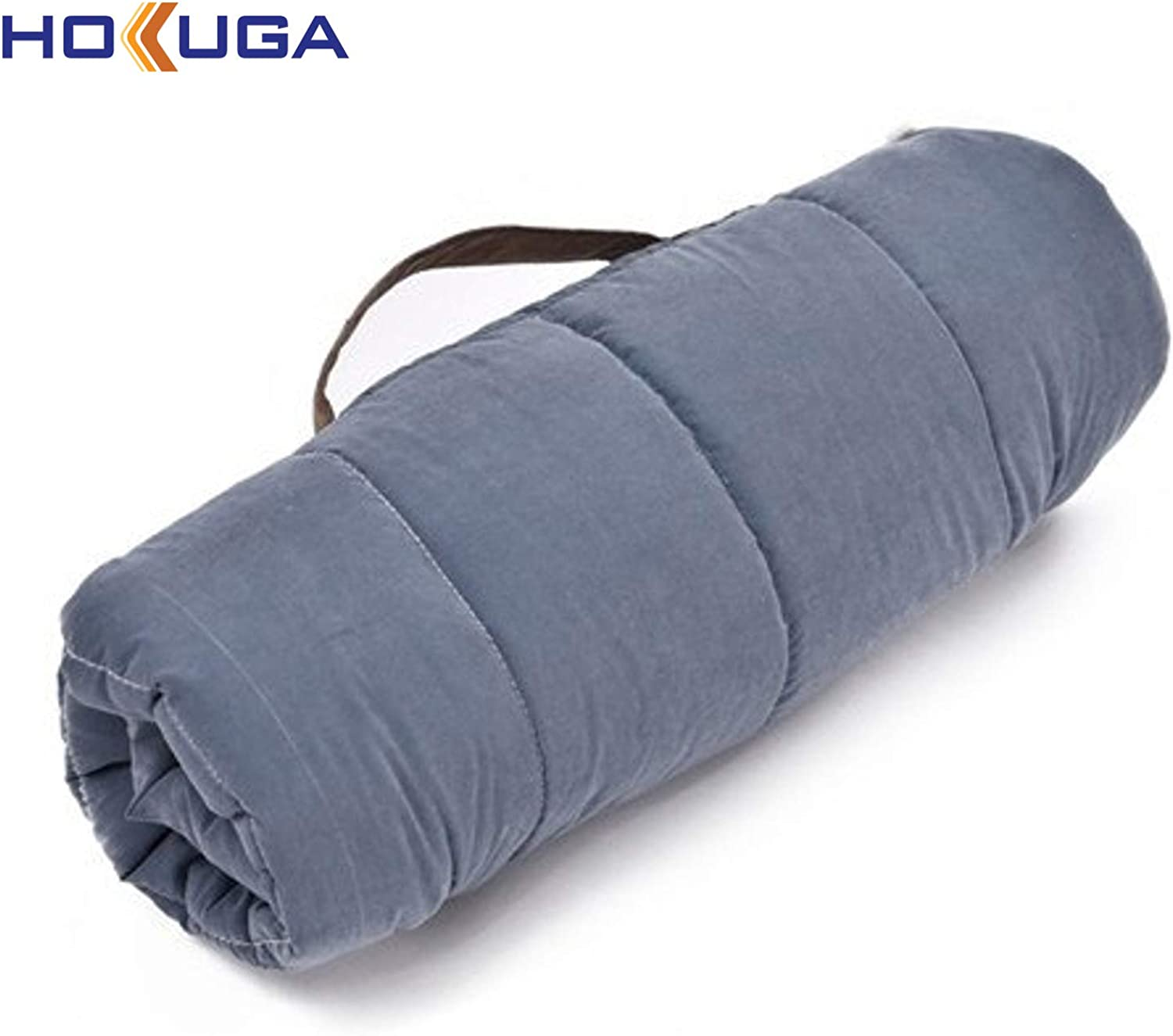 HOKUGA The Pet Mat  for Dog Foldable Dog Cat Mats Soft Portable Pet Cushion Convenience Carry Puppy Big Bed Warm Thick Travel Essential