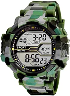 Acnos Army Shockproof Waterproof Digital Sports Watch for Mens Kids Sports Watch for Boys - Military Army Watch for Men