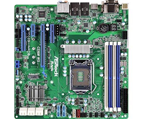 Asrock c236m ws Server/Workstation Mainboard
