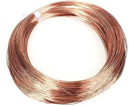 2mm Fly-Fiber Pure Copper Wire T2 Cu Bare Line 1KG//35oz Solid Red Copper Wire,Diameter