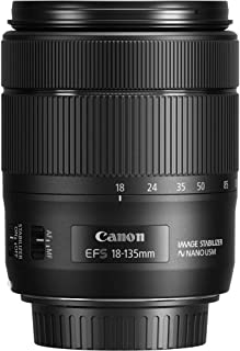 Canon EF-S 18-135mm f/ 35-56 IS USM - Objetivo para cámara Canon con Montura Tipo EF-S (Distancia Focal Minima 0.39m) Negro