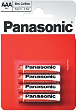 Panasonic 1010 Zinc R03R AAA Micro Special Power Battery