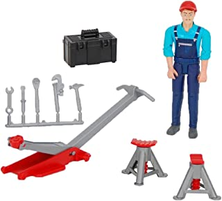 Bruder 62100 Bworld Man with Repair Shop Accessories Vehicle