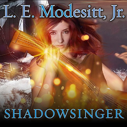 Shadowsinger audiobook cover art