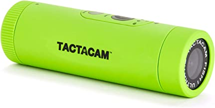 TACTACAM Fish-i Wide Lens Fishing Action Camera - Includes Head Mount and Universal Mount Adapter