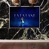 ganlanshu Affiche de Film de Musique Peinture à l'huile Art Mural Art Mural Photo sur Toile,Peinture sans cadre-40X53cm