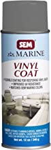 SEM M25203 Marine Formula Boats Grey Vinyl Coat Vinyl and Plastic Repair Coating for Marine Vinyl