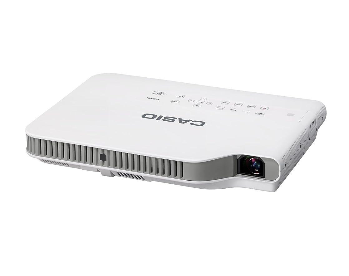 食い違い装備する九時四十五分カシオ 水銀ゼロ プロジェクター XJ-A257 3,000lm WXGA USB有 スリム