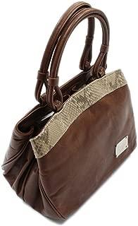【日本製和装バッグ】【クラッシュレザー】 トカゲ 革製 レザーバッグ 手提げバッグ 和装にも洋装にも