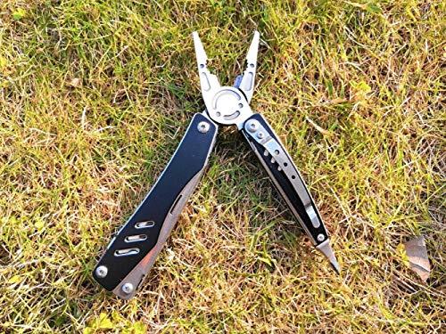 XCLWL Pinces De Pêche Camping Pocket Ciseaux Pêche Multifuntional Pinces Tournevis Embouts Combiner Pince Multitool Pliant Couteau Outils De Survie B