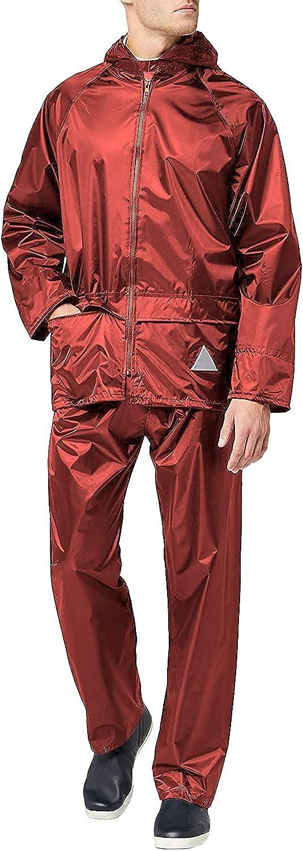 Result Mens Heavyweight Waterproof Rain Suit (Jacket & Trouser Suit)