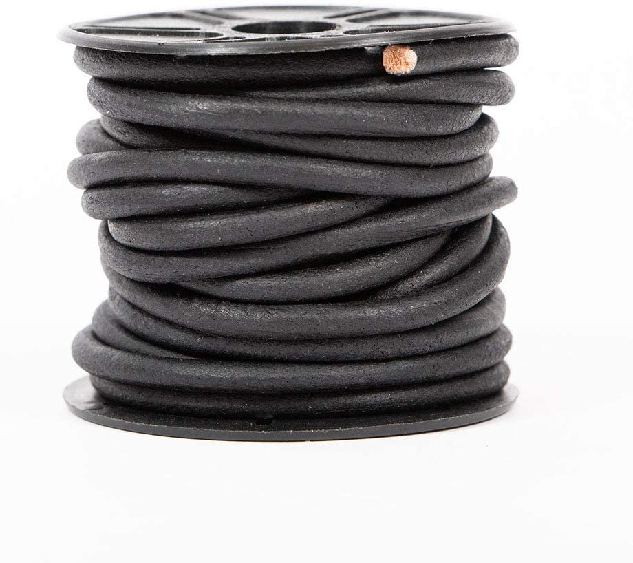 Leather Cord USA Our shop most popular Premium New life Genuine 5m Round