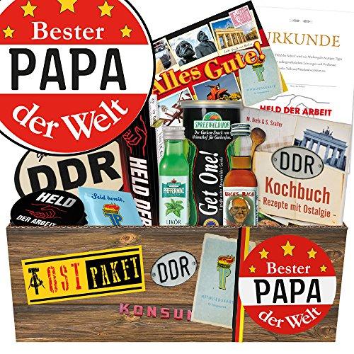 Bester Papa Geschenke DDR / Männer Geschenkbox DDR / Geburtstag Geschenke