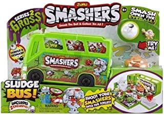 Smashers Series 2 Gross Sludge Bus Playset