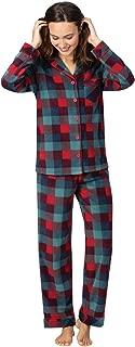 Christmas Pajamas for Women - Fleece Pajamas Women, Button Front
