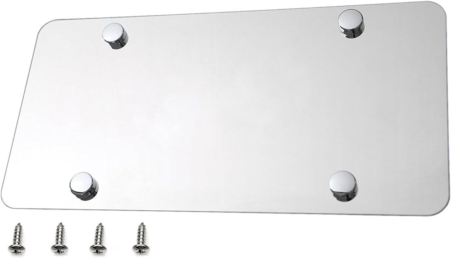 304 Grade License Plate Blank High Quality Steel Steel