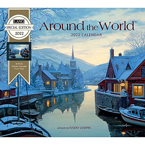 The Lang Companies, Around The World 2022 Special Edition Wall Calendar
