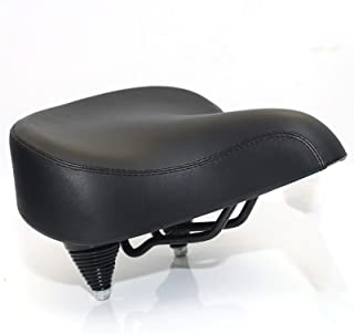 Saddles Bicycle Universal Large Saddle Brown Spring High-Elastic Bicycle Saddle, Have A More Enjoyable Experience for You ...