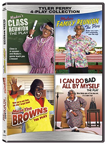 Tyler Perry Quad (Plays) - Madea's Class Reunion / Madea's Family Reunion / Meet The Browns / I Can Do Bad All By Myself [DVD]