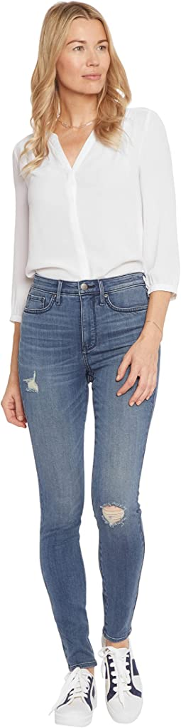 High-Rise Ami Skinny Jeans in Madison