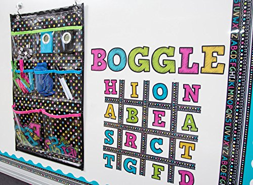 Teacher Created Resources Chalkboard Brights Place Value Pocket Chart (TCR20804) Photo #4