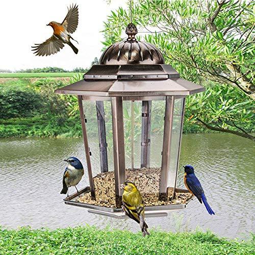 Layla Beauty Store Vogel-Zufuhr Im Freien Ernährung Essen Vogel Vogel Vogelfutter Liefert Trog Balkon Garten Gemeinschaftsgarten,35.5 * 28cm