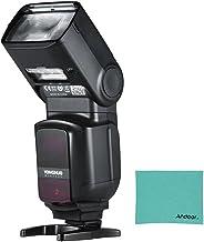 Yongnuo YN968EX-RT Flash master speedlite telecamera TTL  wireless, con luce LED integrata, 1 / 8000s, HSS, con panno di pulizia Andoer per Canon 500D, 550D, 40D, 1000D, 1100D, 1200D