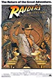 Indiana Jones - Raiders of The Lost Ark (1982) Classic Poster and Prints Unframed Wall Art Gifts Decor 11x17""