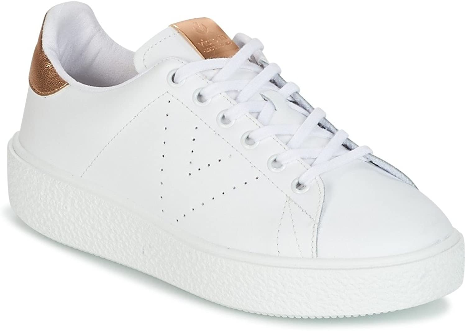 Victoria shoes Woman Low Sneakers with Platform 262115 White RAMATO