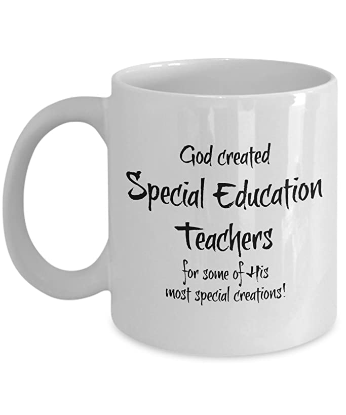Special Education Teacher Gifts Cup - Special Ed Teacher Appreciation Gift - Men, Women - Mugs Best Gifts for Retired High School, Middle School, Elementary Teachers - End of Year Gift, Christmas
