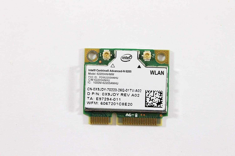 Dell Mini PCI Express Half sold out Seasonal Wrap Introduction Height WLAN 802.11n Wirele WiFi X9JDY