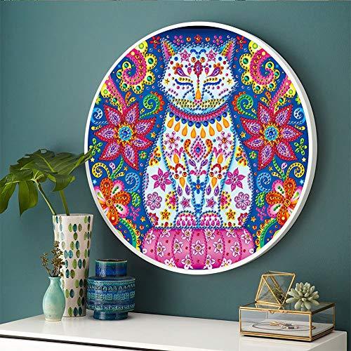 ACHICOO Home Dekorative Mandala Blume Tier Wandbild Quaste DIY Diamant Malerei Anhänger Handmade Craft YKH53