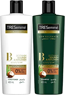 Tresemme Shampoo Botanics 400 ml  + Conditioner Botanics 400 ml