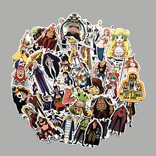 DSSJ 75 Dibujos Animados de Dibujos Animados Camino Volando mar ladrón Rey Pegatina Equipaje Maleta Ordenador Caja de teléfono móvil Caja de Palanca Pegatina de Guitarra