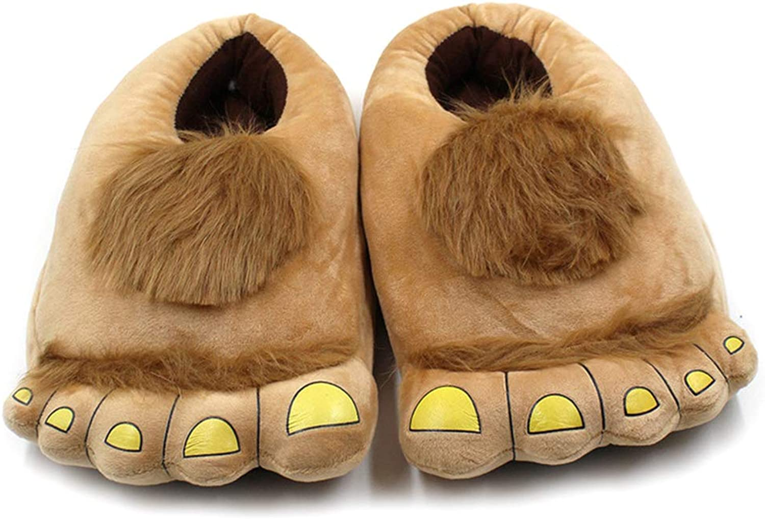 Nafanio Winter Warm Slippers Boots Soft Indoor Floor Women Cotton Paw Funny Animal Christmas Monster shoes