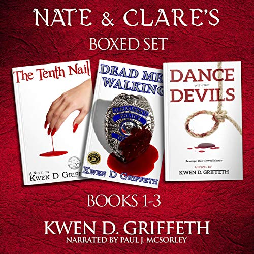 Nate & Clare: 3 Book Series audiobook cover art