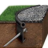 Black Jack Poly Lawn Edging, One Heavy Duty Edging Kit