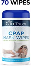 Care Touch CPAP Cleaning Mask Wipes - Unscented, Lint Free - 70 Wipes