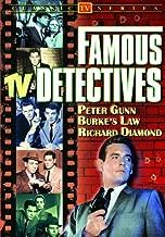 Famous TV Detectives: (Peter Gunn / Burke's Law / Richard Diamond)