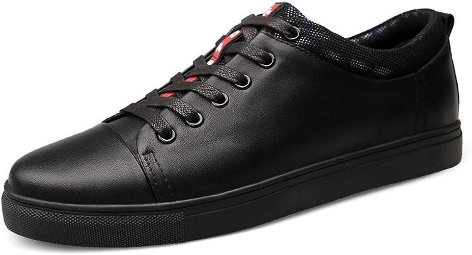 Hommes Mode Loisir Chaussures en cuir Chaussures décontractées Antidérapant Chaussures plates Chaussures à outils Formateurs EUR TAILLE 39-45