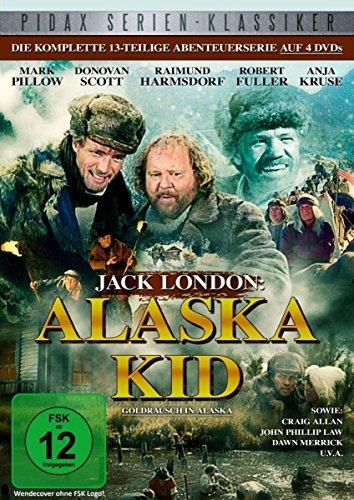 Jack London: Alaska Kid - Goldrausch in Alaska / Die komplette 13-teilige Abenteuerserie (Pidax Serien-Klassiker) [4 DVDs]