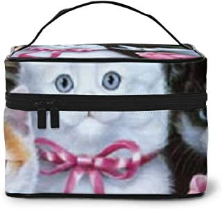 XOMAO Taylor Swift CatCosmetic Bags Cosmetic Case Travel Makeup Bags Organizer Portable Storage Bag with Handle in Multifunction Large Capacity