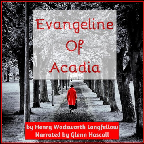 Evangeline of Acadia audiobook cover art
