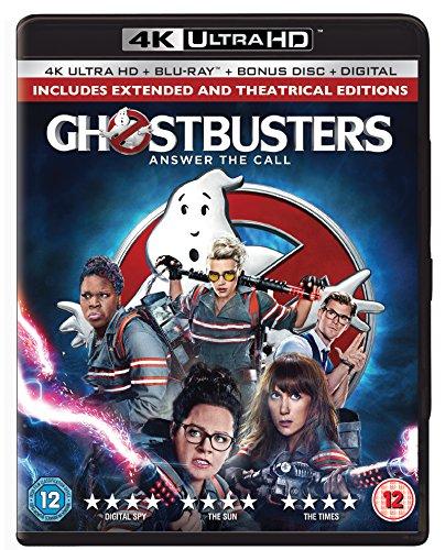 Ghostbusters 3-Disc 4K Ultra HD & Blu-ray [2016] [Region Free]