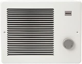 Broan-NuTone 170 Wall Heater, White Painted Grille, 500/1000 Watt 120 VAC,