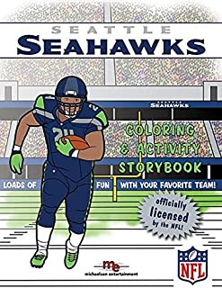 Seattle Seahawks Coloring & Activity Storybook